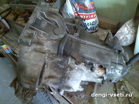 снятая коробка передач ВАЗ 2109