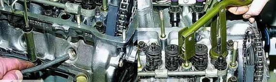 Замена маслосъемных колпачков Ваз 2121 2131