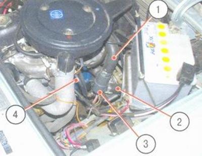 замена охлаждающей жидкости ваз 2106