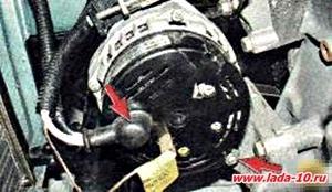 LADA-десятка. Акумулятор не заряджається. Автомобіль ВАЗ 2110.