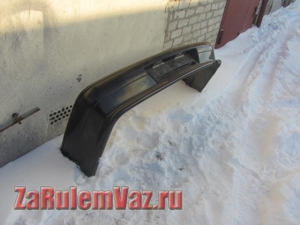 замена заднего бампера на ВАЗ 2115