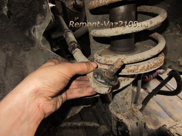 замена рулевых наконечников на ВАЗ 2109-2108