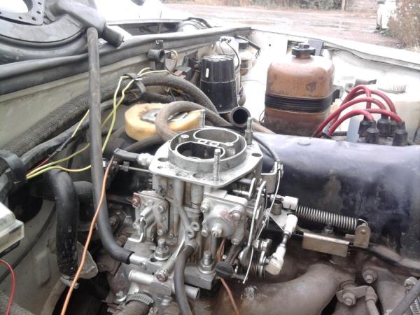 ВАЗ 2107 с карбюраторным двигателем