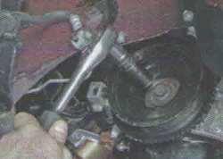амена водянного насоса (помпы) двигателя Лада Гранта