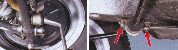ремонт стабилизатора поперечной устойчивости ваз 2108