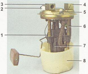Система питания ВАЗ 21124