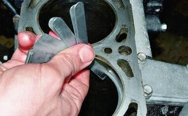 Поршневые кольца двигателя