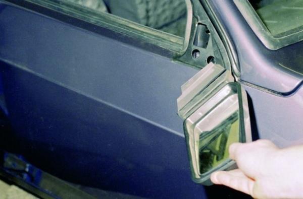 Замена бокового зеркала заднего вида на ВАЗ