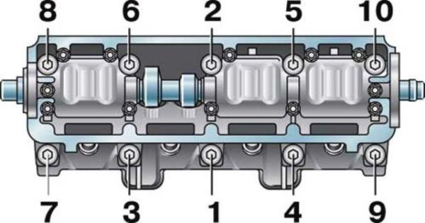 Схема по которой должна проходить протяжка ВАЗ 2109