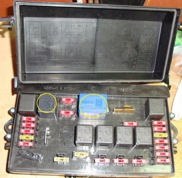 Замена монтажного блока (ЧЯ) ВАЗ 2108