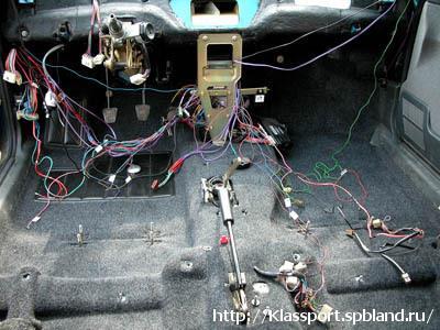 Замена проводки ВАЗ 2114