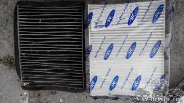 замена салонного фильтра ВАЗ-2110 своими руками