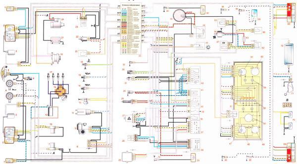 ВАЗ 2107 инжектор реле вентилятор охлаждения