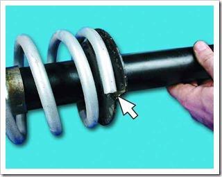 Как заменить амортизатор и пружину задней подвески на ВАЗ 2110