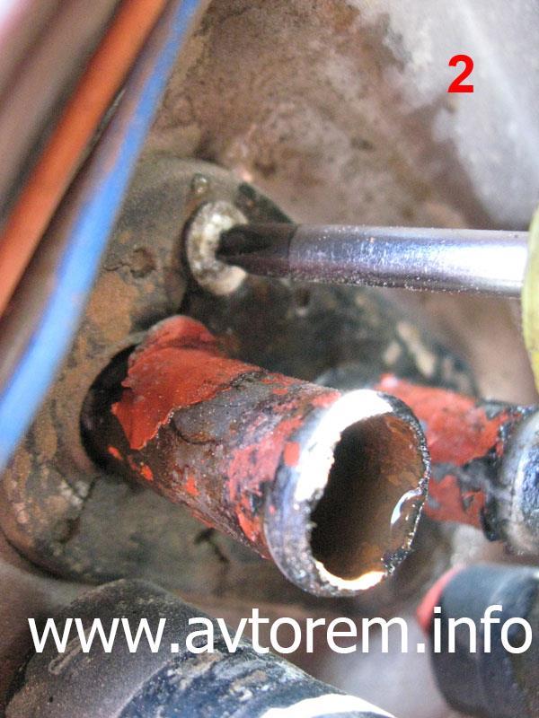 Как снять радиатор печки на автомобиле ВАЗ-2101, ВАЗ-2102, ВАЗ-2105, ВАЗ-2106, ВАЗ-2107