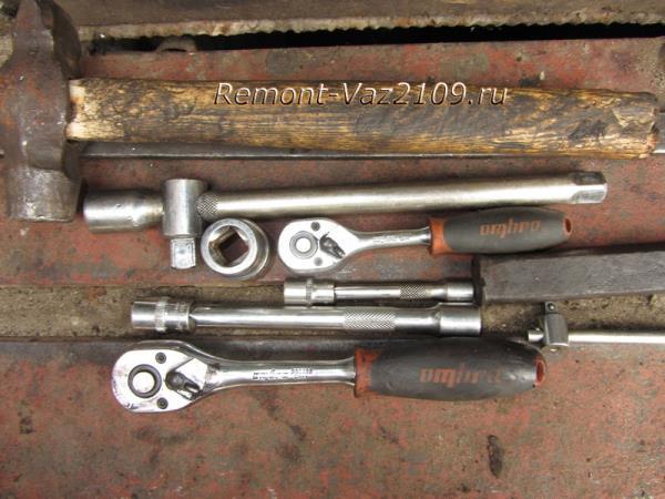 инструмент для замены рулевой рейки на ВАЗ 2109-2108