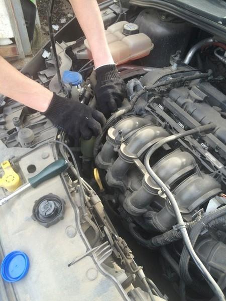 Замена жидкости ГУР Ford Focus 3