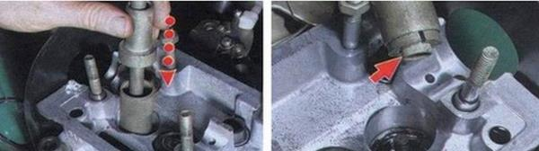 Инструкция по замене малосъемных колпачков на ваз 2109 с видео
