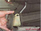 Снять каркас уплотнителя патрубков радиатора