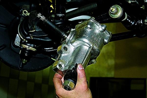 Ремонт рулевого редуктора ваз 21214