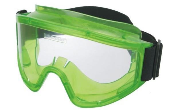 Защитные очки при работе с электролитом аккумуляторной батареи Lada Largus