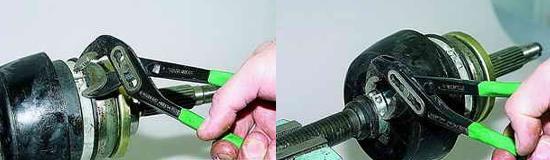 Замена наружных шарниров приводов передних колес Нива 2121 и 2131