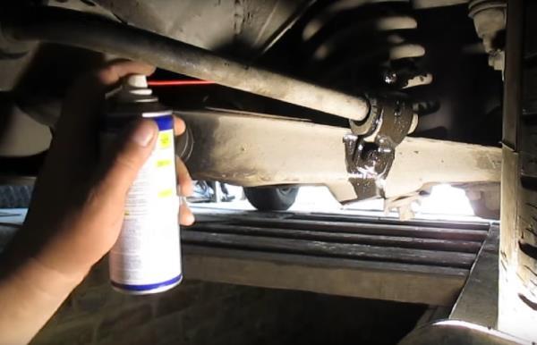 Замена втулок стабилизатора на ВАЗ 2107