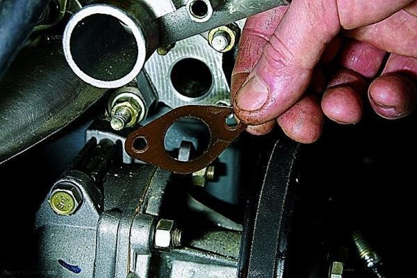 Замена вилки сцепления ВАЗ 21063