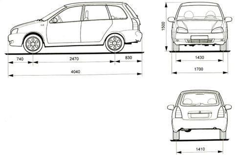 ВАЗ-1117 (5-дверный универсал)