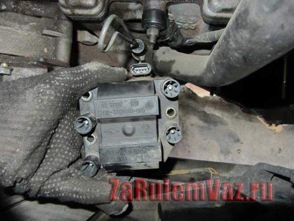 замена катушки зажигания на ВАЗ 2114-2115