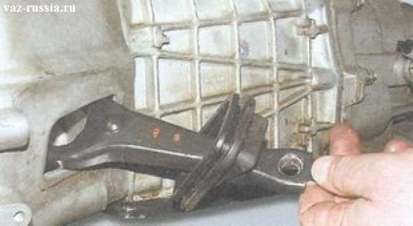 Как заменить вилку сцепления на ваз 2107 без снятия коробки