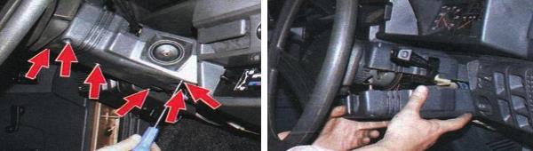 Как снять замок зажигания на автомобиле ваз 2109