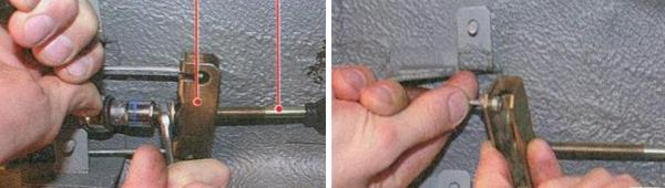 Замена троса привода стояночным тормозом на автомобиле ваз 2170