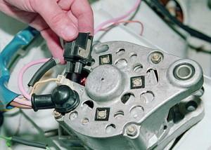 Фото неисправного генератора автомобиля, oldmerin.net