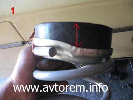 Задние пружины и резиновые проставки на автомобиль ВАЗ-2101, ВАЗ-2104, ВАЗ-2105, ВАЗ-2106, ВАЗ-2107, Классика