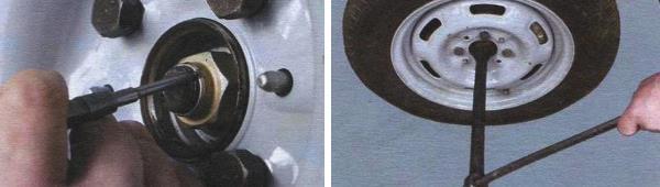 Снятие и замена приводов передних колес ваз 21099