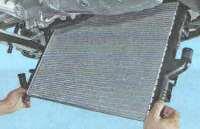 Радиатор системы охлаждения Лада Ларгус (замена)