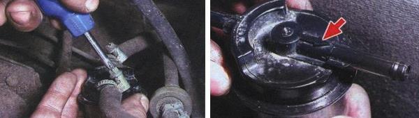 Замена топливного фильтра на автомобиле ваз 21099