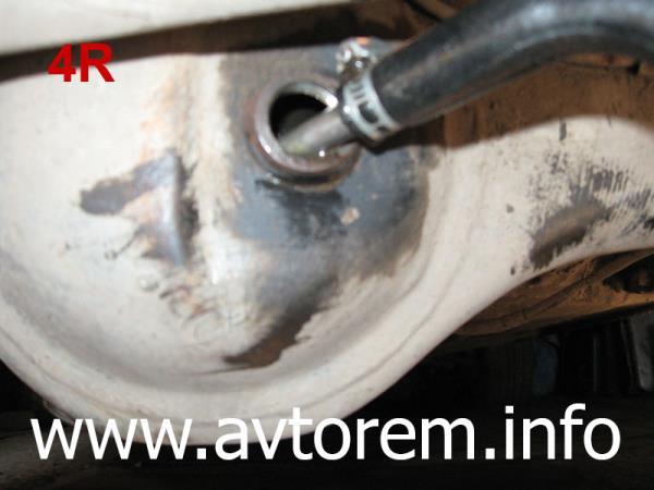 Замена трансмиссионного масла в редукторе заднего моста ВАЗ