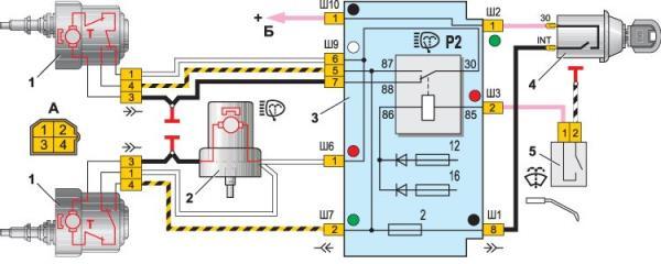 Работа генератора ВАЗ 2106