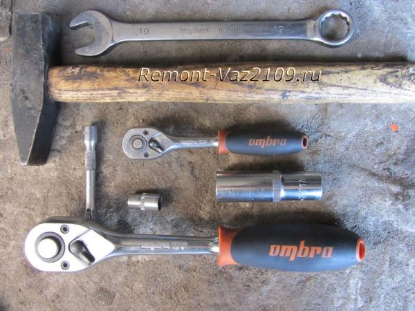 инструмент для замены генератора на ВАЗ 2109-2108