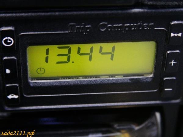 Бортовой компьютер на ваз 2110 штатный