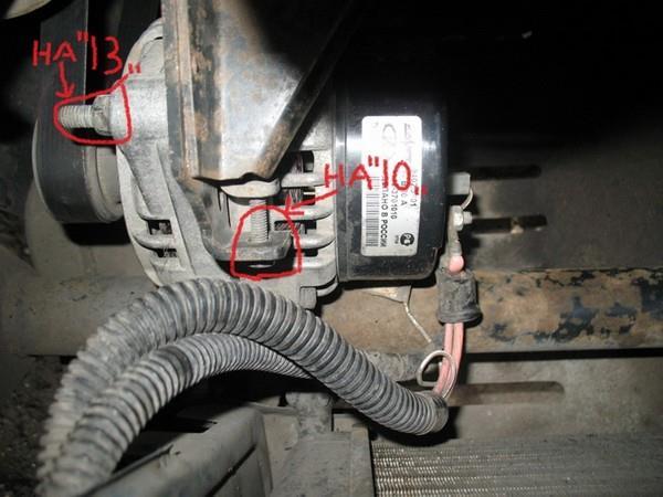 Замена ремня генератора без ГУРа ВАЗ 2112