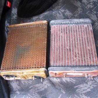 Снятие и замена радиатора печки ВАЗ 2104
