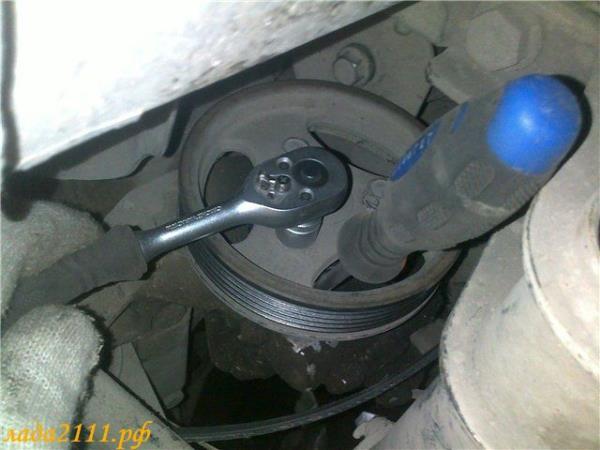 Как заменить ремень генератора ваз 21124 - Kazan-avon