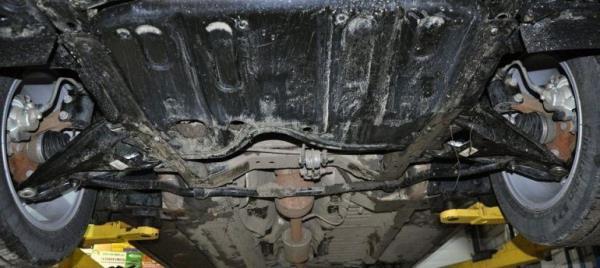 Устройство передней подвески Лада X Рей