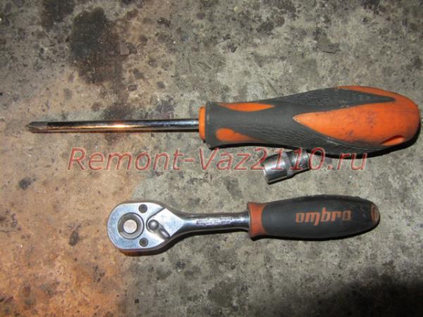 инструмент для замены ЭБУ на ВАЗ 2110-2112