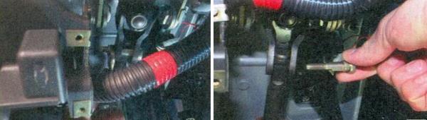Замена карданного вала рулевого управления ваз 2170