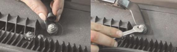 Как снять стеклоочиститель ветрового стекла Нива Шевроле