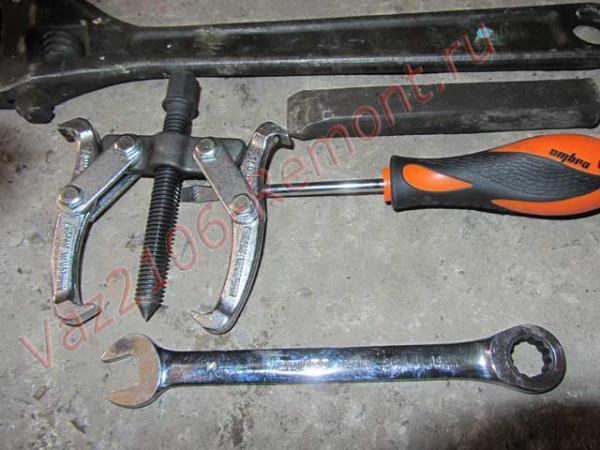инструмент для замены сальника коленвала ВАЗ 2106